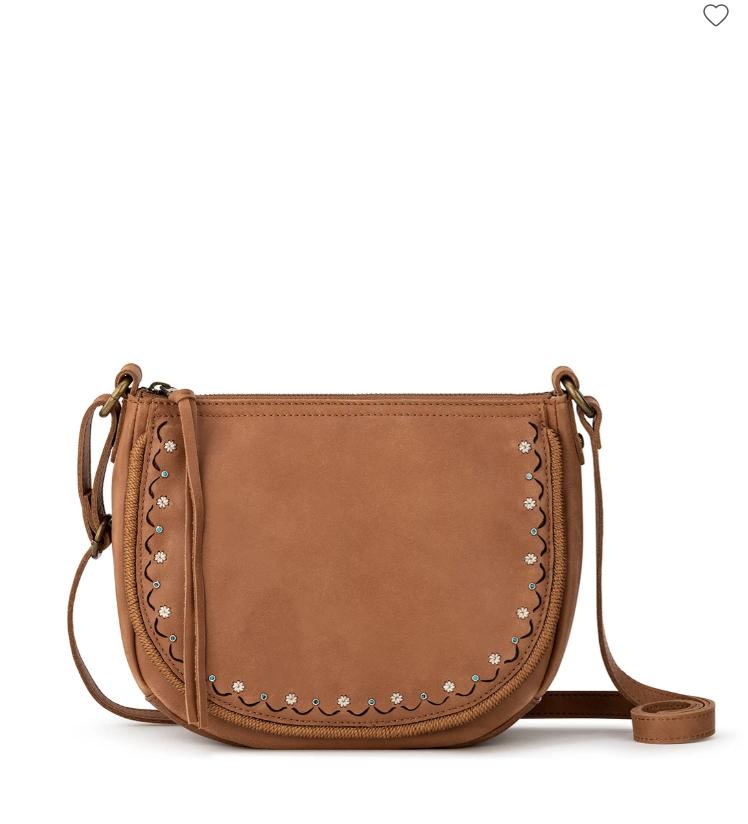 Sayulita Leather Saddle Bag