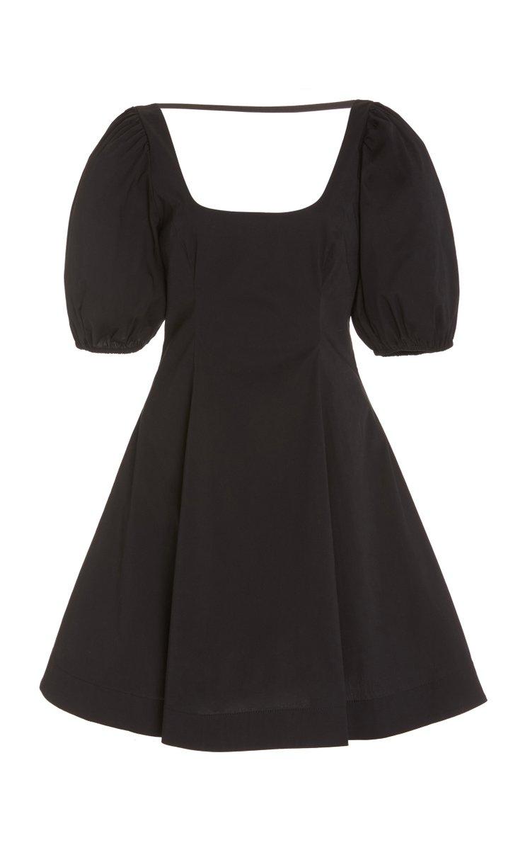 Laelia Stretch-Cotton Poplin Mini Dress