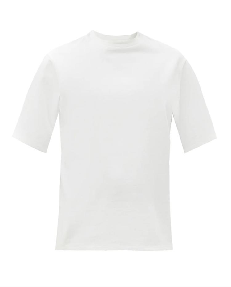 키아라 코튼 저지 티셔츠