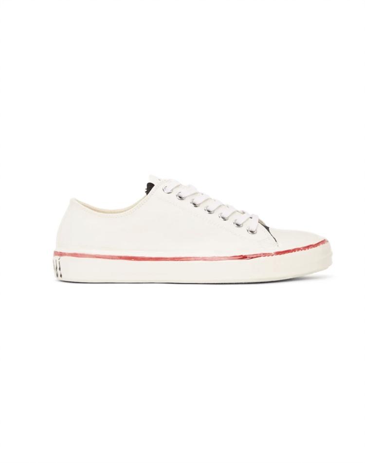 Off-White Graffiti Low-Top Sneakers