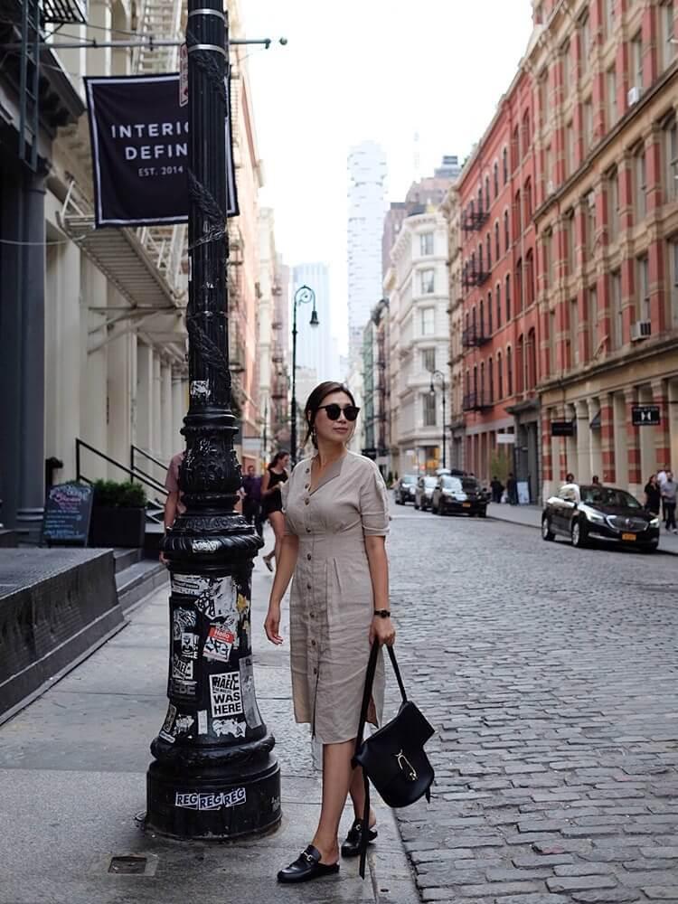 One fine linen Dress for Summer