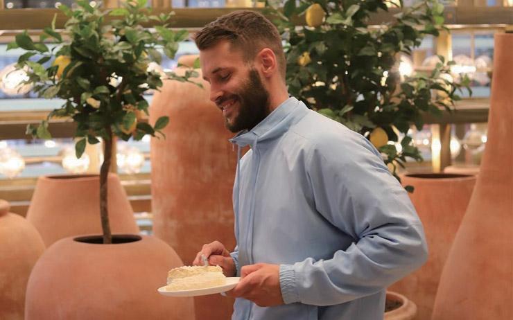 자크뮈스의 심볼인 레몬을 테마로 한 카페 '시트론'.