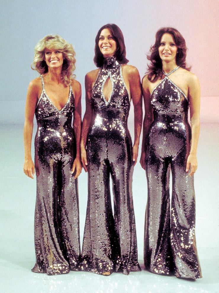 1970년대 미국의 TV 시리즈 <미녀 삼총사> 주인공들.