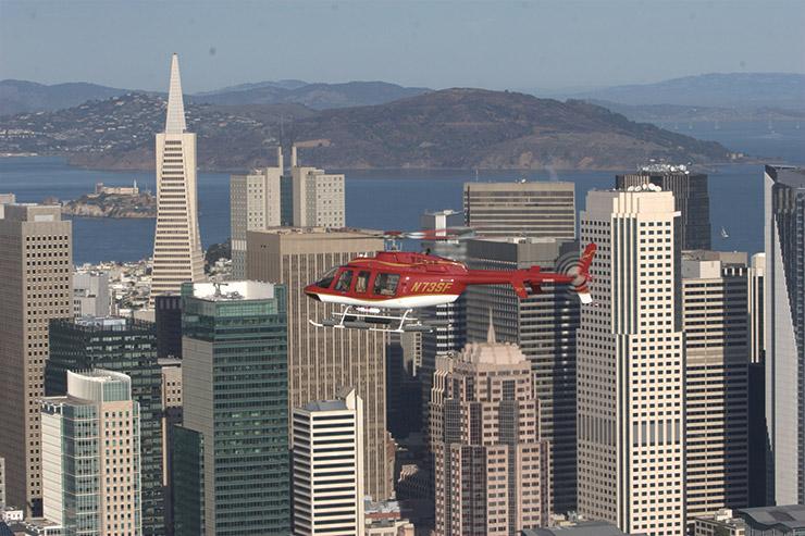 헬리콥터 투어.