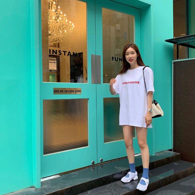 9 kiểu váy mùa hè vừa mát vừa yêu kiều chuẩn style sao Hàn ảnh 7
