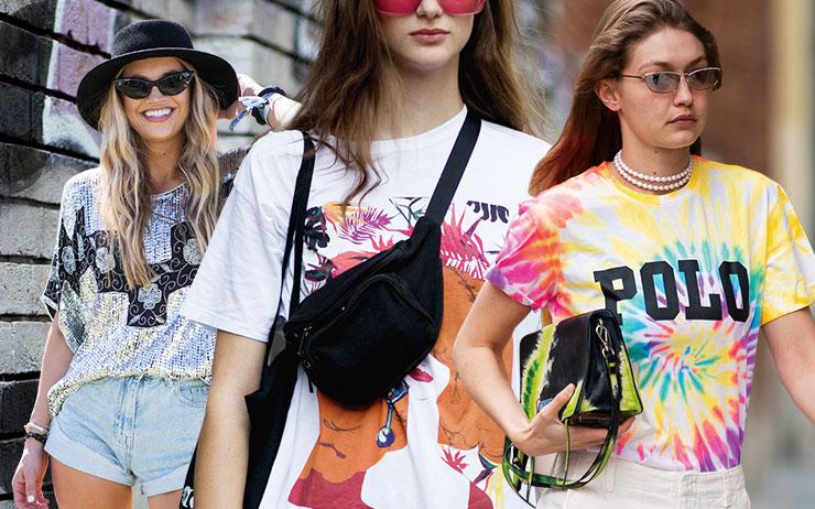 취향과 개성에 맞춰 입는 티셔츠 활용 백서.