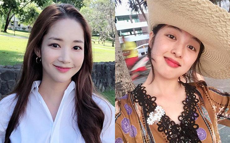 각기 다른 매력으로 팬들의 마음을 사로잡은 드라마 '그녀의 사생활' 속 박민영과 김보라. 각각 만렙 미술관 큐레이터와 신입으로 변신한 두 배우의 스타일 포인트!