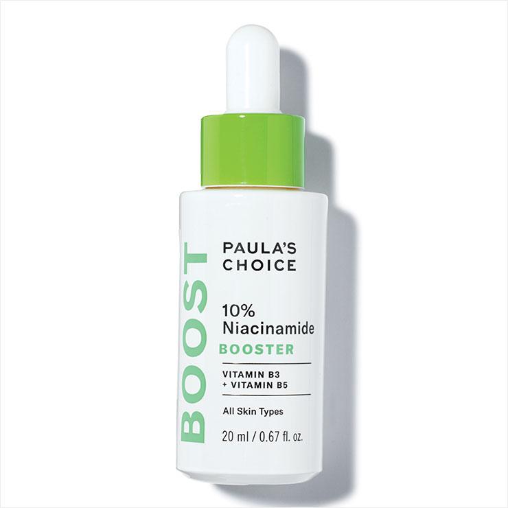 피지 생성을 조절하고 피부 톤을 고르게 만들어주는 10% 나이아신아마이드 부스터 앰풀, 5만8천원, Paula's Choice.