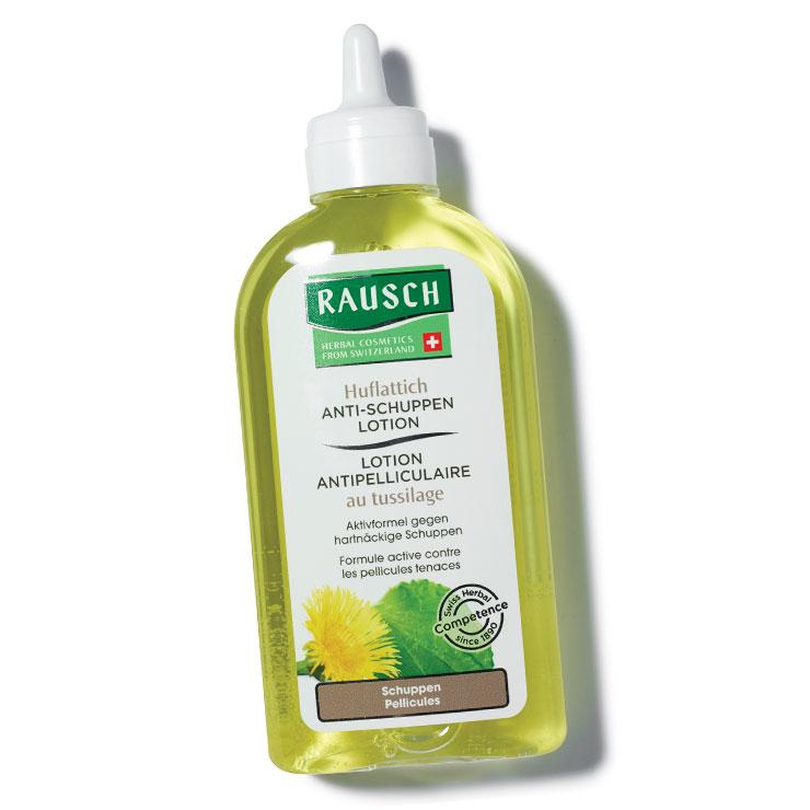 항염 작용에 탁월한 유황 성분이 두피의 열을 낮추고 가려움을 완화해 주는 콜츠푸트 안티 댄드러프 로션, 3만9천원, Rausch.