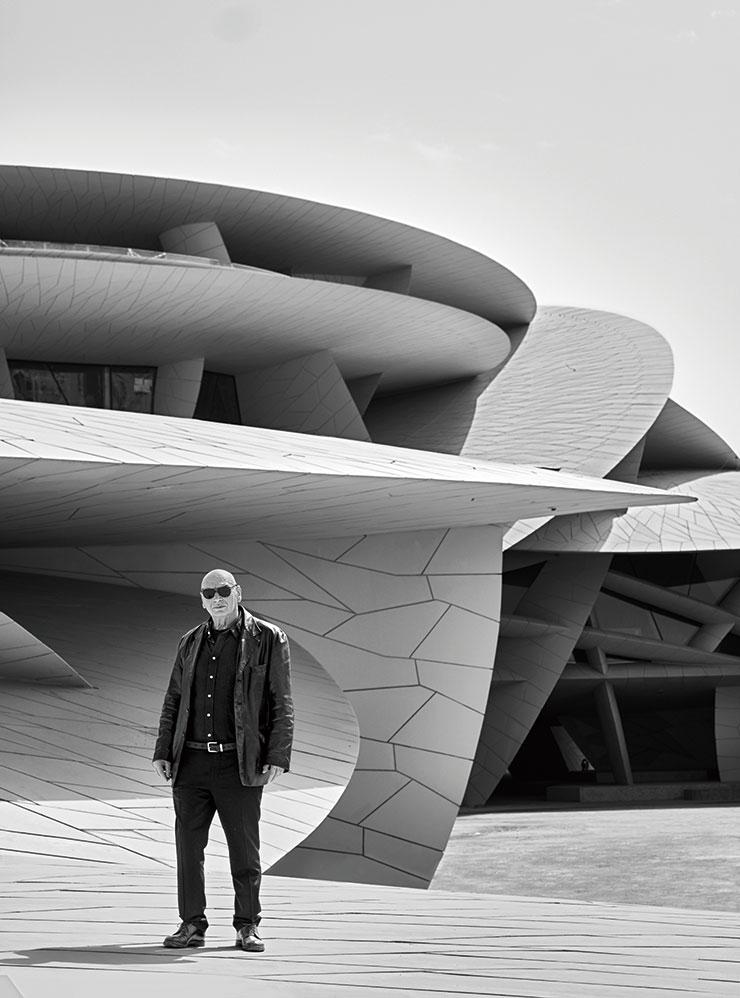 건축가 장 누벨.