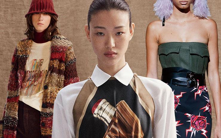 패션계의 시침은 가을을 향하고 있다. <엘르>가 포착한 여섯 브랜드의 프리폴 컬렉션!
