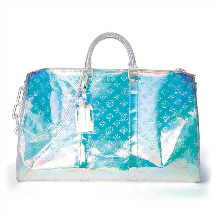 홀로그램 보스턴백은 가격 미정, Louis Vuitton.