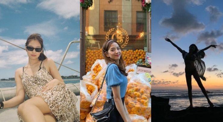블랙핑크, 한혜진, 제시카, 카이아 거버, 벨라 & 지지 하디드 자매까지! 휴양지의 완성은 00이다?!