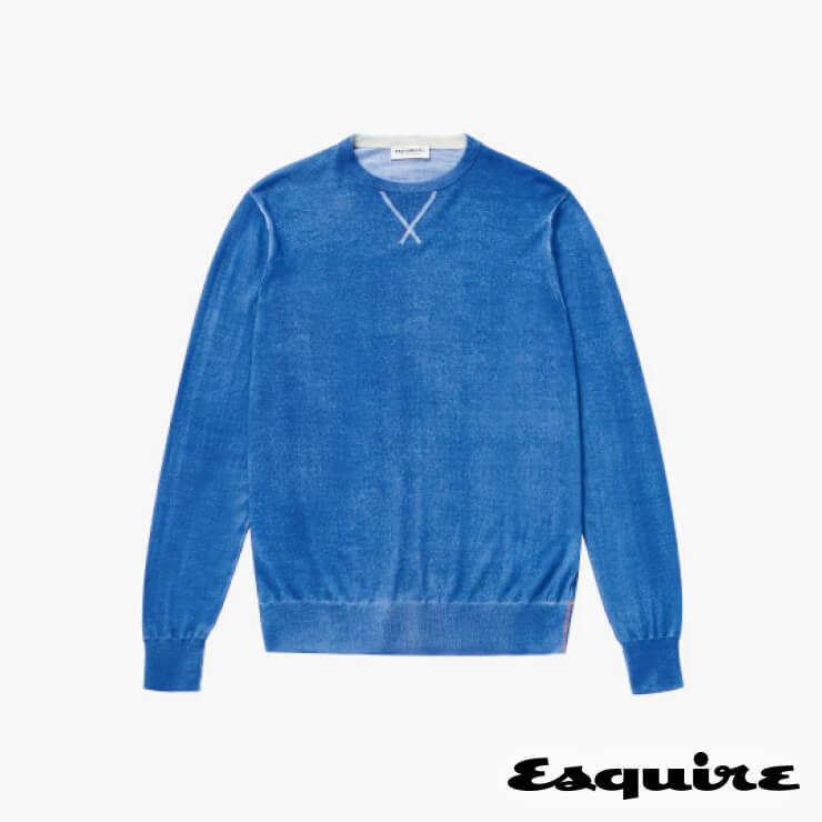 파란색 니트 톱 39만6000원 프레지던트 by 샌프란시스코 마켓.