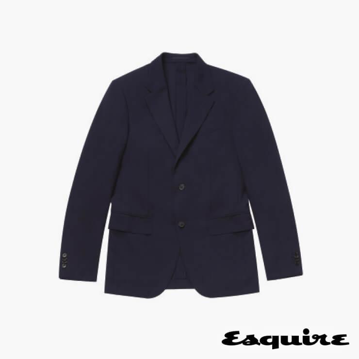 남색 테일러드 재킷 450만원 에르메네질도 제냐.