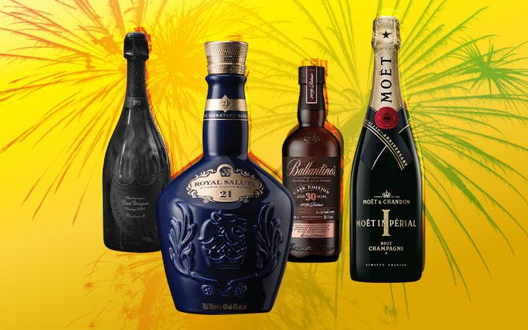 제주도에서 공개된 '돔 페리뇽 빈티지 2002 플레니튜드 2'. 15년 동안 숙성됐지만 어떤 와인보다 상쾌하고 청량한 맛을 지니고 있다.