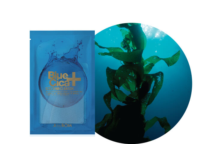 A by Bom 블루 시카 수딩 마스크 10매입 3만원.