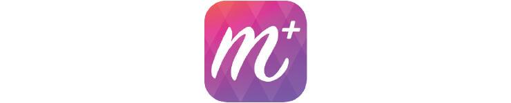 메이크업플러스 가상 메이크업 앱. 현대백화점 브랜드 관이 있어 에스티 로더, 랑콤, 베네피트 등 브랜드의 제품을 가상으로 발색해보고 구입할 수 있다. (안드로이드, 아이폰 가능)