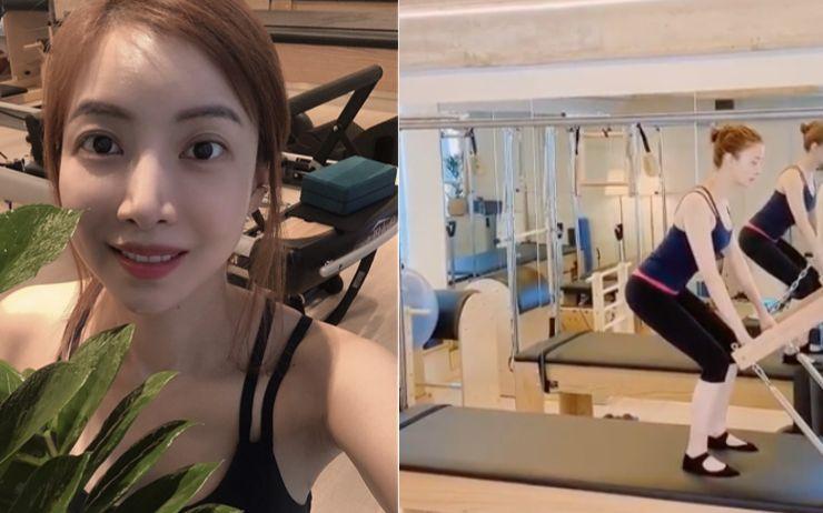 40대 몸매 실화?! 비율 갑, 탐나는 보디 라인을 가진 멋진 언니 윤세아의 #운동스타그램.