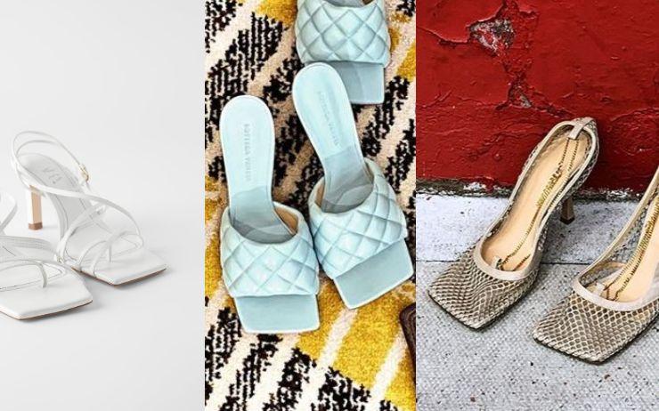 들어보셨나요, '스퀘어 토' 슈즈? 어디서 본 적 있는 낯익은 형태. 네모진 앞코를 가진 이 신발의 정체!