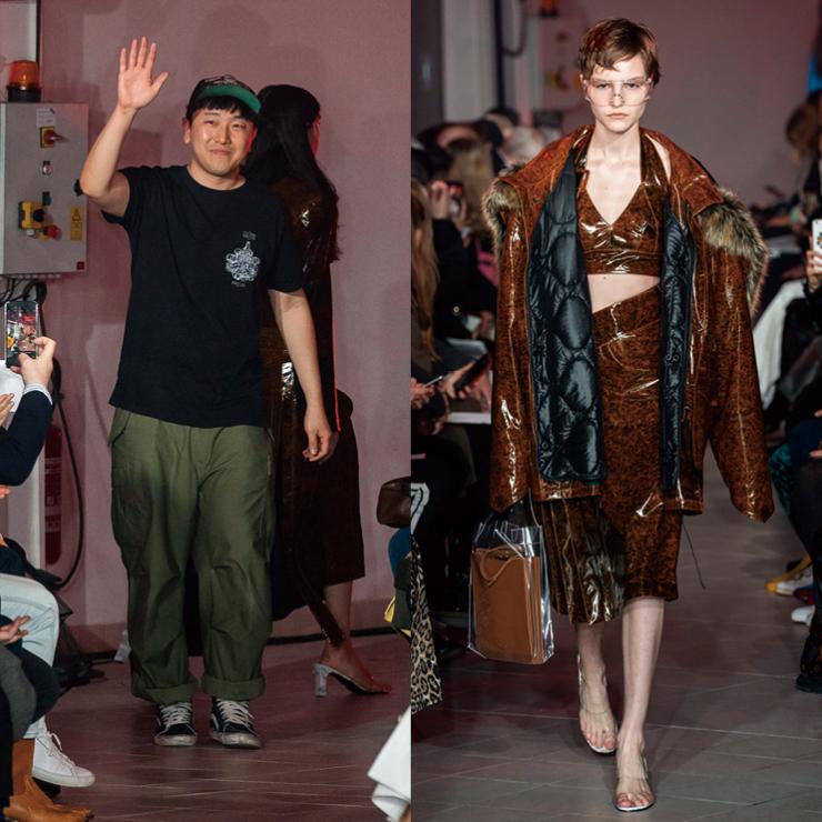 셀린과 루이 비통, 끌로에를 거친 한국 디자이너 황록의 브랜드 록(ROKH). 지난해 LVMH 프라이즈 특별상 수상 이후, 2019 F/W 파리 컬렉션 오프닝 무대로 화려한 데뷔를 마쳤다.