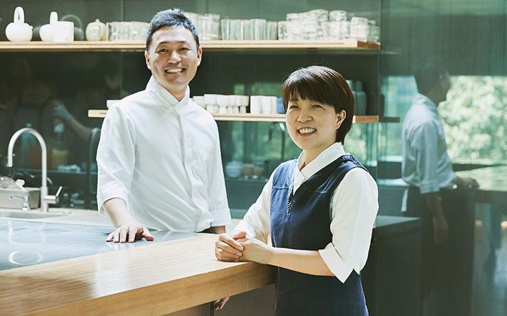 온지음 맛공방의 조은희 방장과 박성배 수석연구원을 만났다.