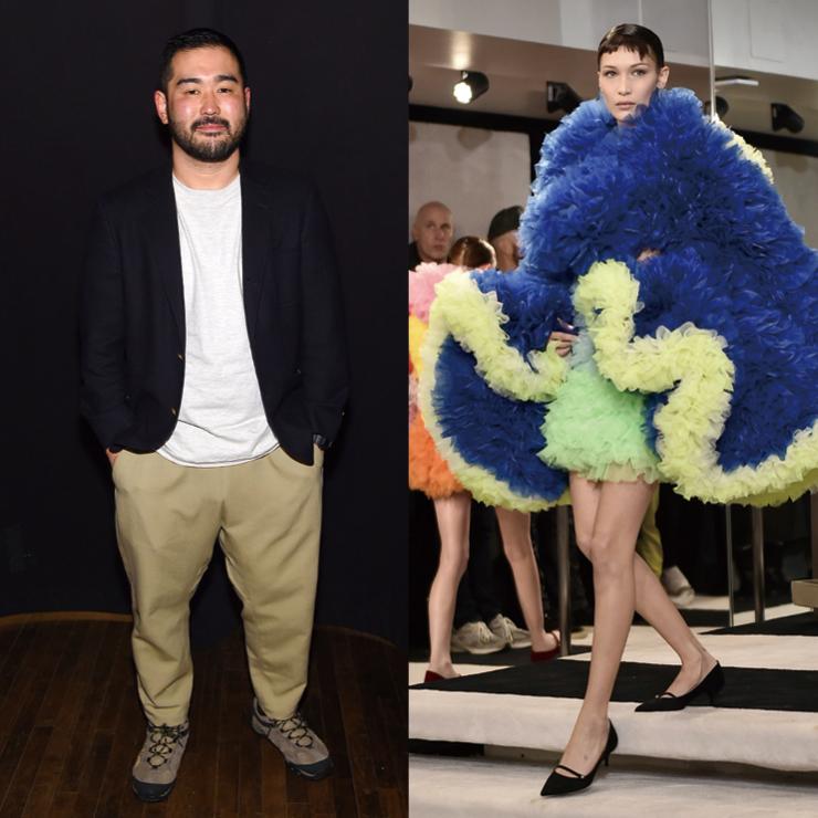마크 제이콥스와 스타일리스트 케이티 그랜드의 지지로 뉴욕 패션위크 데뷔 쇼를 마친 토모 코이즈미(Tomo Koizumi). SNS 피드를 점령한 거대한 드레스는 그의 패션 판타지를 완벽하게 그려냈다.