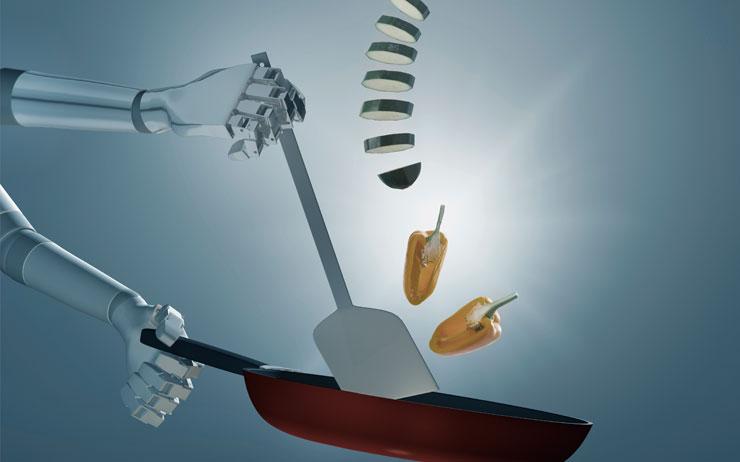 바리스타 로봇이 내려주는 커피를 마시며 '미래 식당'의 현재를 짚어봤다.