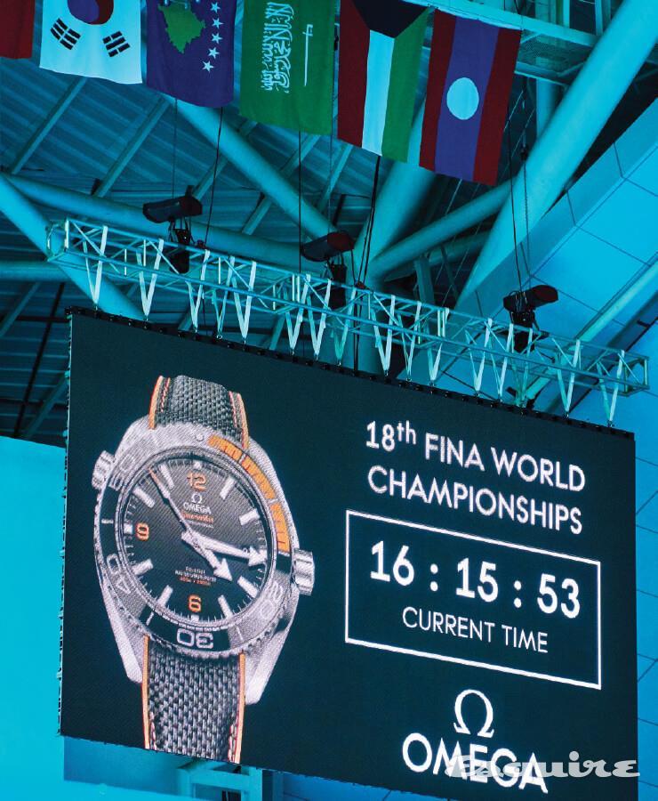 세계수영선수권대회-더 타임 키퍼-오메가