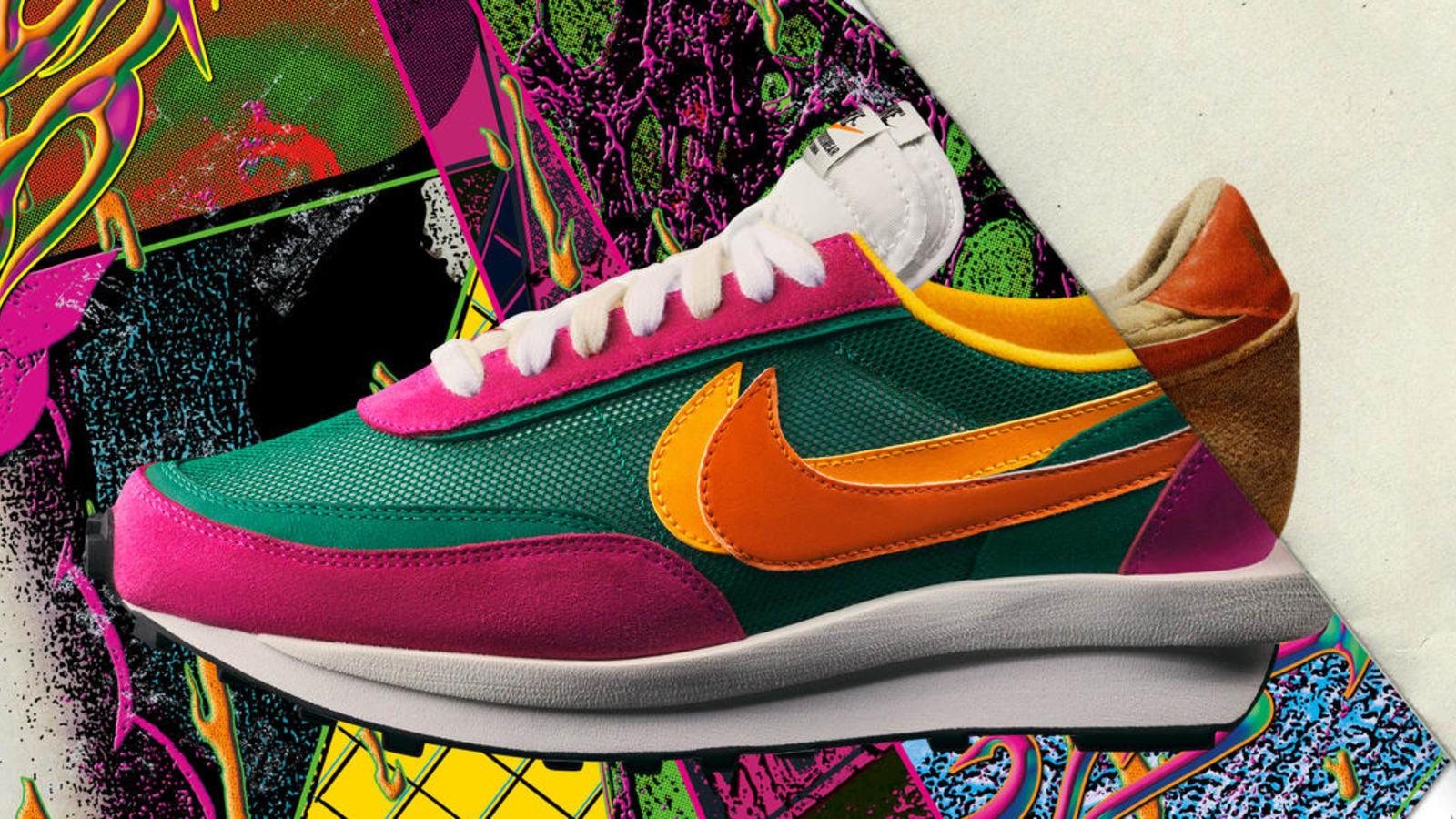 사카이와 나이키가 협업해 패션계를 떠들썩하게 했던 LDV 와플 스니커즈가 다른 컬러를 선보인다.