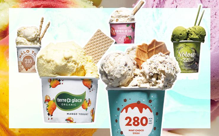 파인트 아이스크림 한 통을 다 먹어도 밥 한 공기의 칼로리보다 낮은 데다 단백질까지 들어 있다고? 유지방과 설탕을 줄였지만 달콤함은 그대로 유지한 저칼로리 아이스크림이 속속 등장하고 있다. 입맛 도는 가을, 여름에 어렵게 성공한 다이어트의 마침표를 '요요'로 찍고 싶지 않다면 아이스크림도 따져가며 먹자.