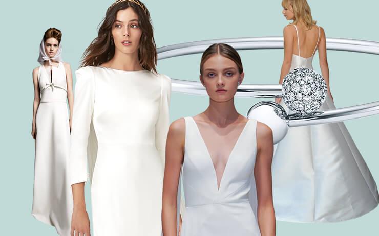 2020 F/W 브라이덜 가운 트렌드 리포트. <엘르 브라이드>가 엄선한 뉴 시즌 웨딩 드레스에 빠져볼 것.