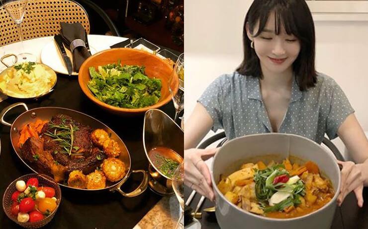 천고마비의 계절, 가을이다. 집나간 입맛이 살아 돌아왔다면 집밥강선생, 요천밍키, 강쉐프라 불리는 '다비치'의 강민경의 식탁을 참고해보자.