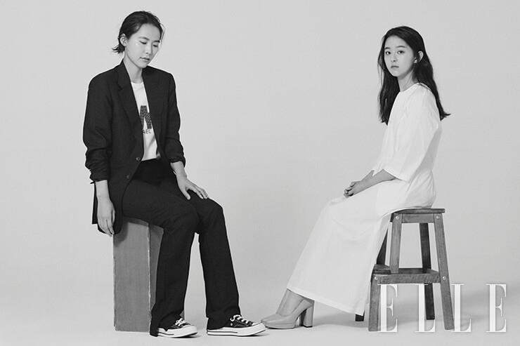 영화 '벌새'의 감독 김보라와 배우 박지후