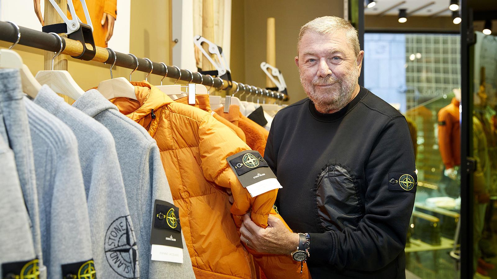 스톤아일랜드의 CEO 카를로 리베티를 만났다. 브랜드의 혁신성이 어디에서 오는 지 알 것 같았다.