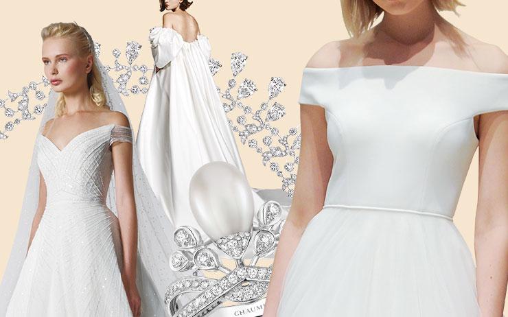 2023 F/W 브라이덜 가운 트렌드 리포트. <엘르 브라이드>가 엄선한 뉴 시즌 웨딩 드레스에 빠져볼 것.