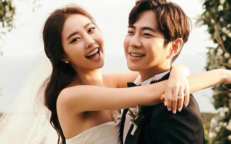 운명처럼 서로가 서로를 만나, 마법같은 결실을 맺은 커플의 웨딩 데이.