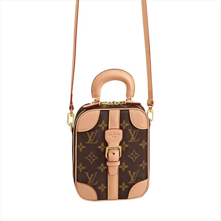크로스보디백과 토트백, 두 가지 타입으로 사용 가능한 미니 백은 3백34만원, Louis Vuitton.