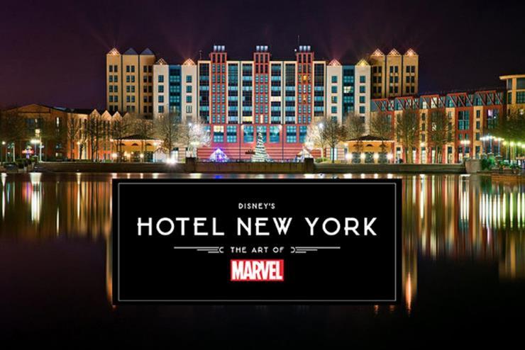 '디즈니 호텔 뉴욕 – 디 아트 오브 마블'이 개장한다.