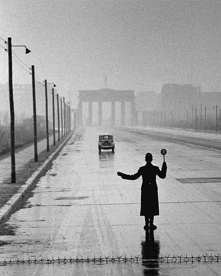 Ralph Crane, Berlin Police, 1953