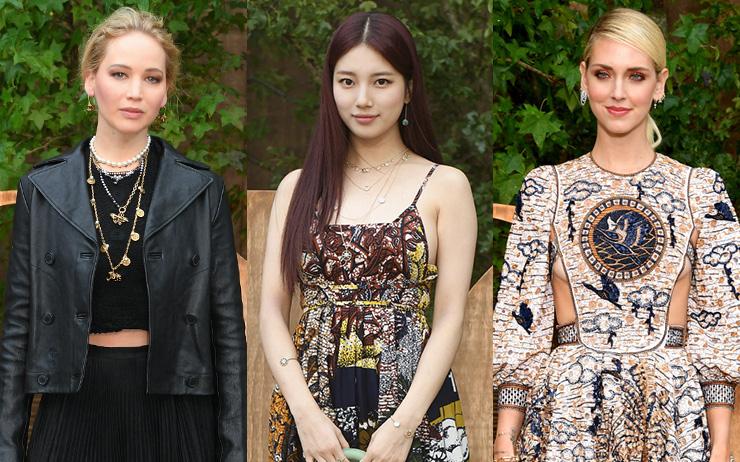 한국을 대표한 수지부터 제니퍼 로렌스, 줄리안 무어, 이자벨 위페르 등등. 2020 S/S 파리패션위크에서 선보인 디올 컬렉션의 스타들이 선택한 룩은 바로 '이것'!