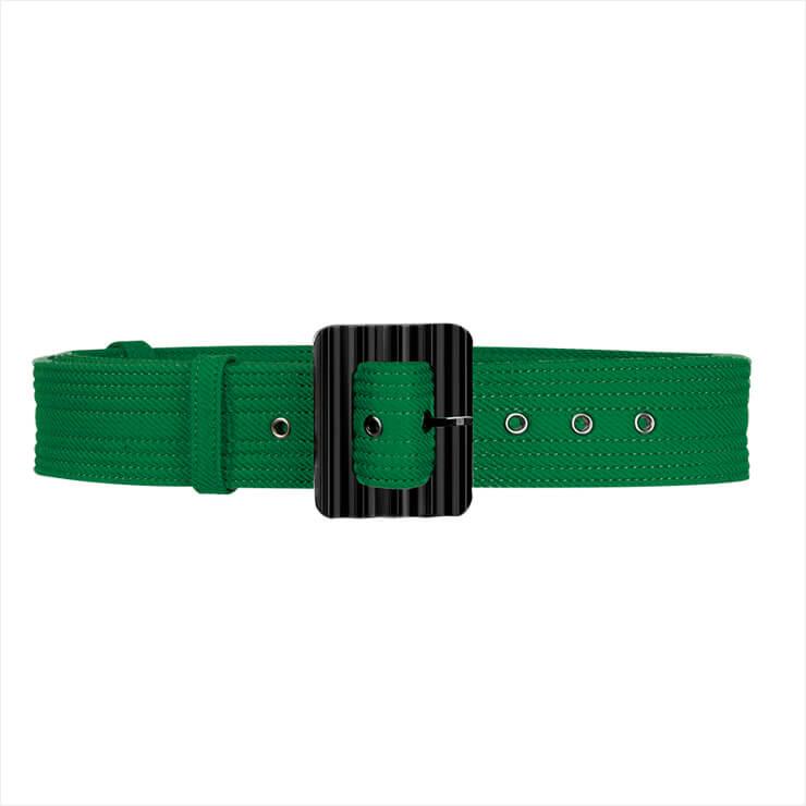 밀리터리 스타일의 패브릭 벨트는 가격 미정, Givenchy.