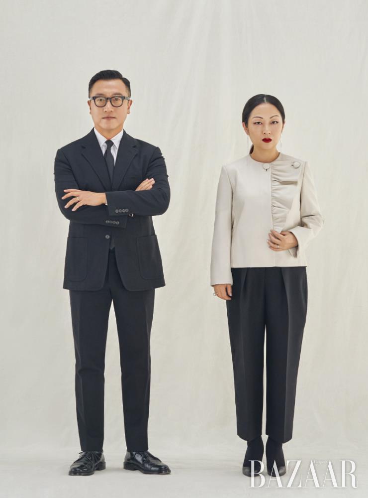 앤디앤뎁을 이끄는 김석원(왼쪽), 윤원정.