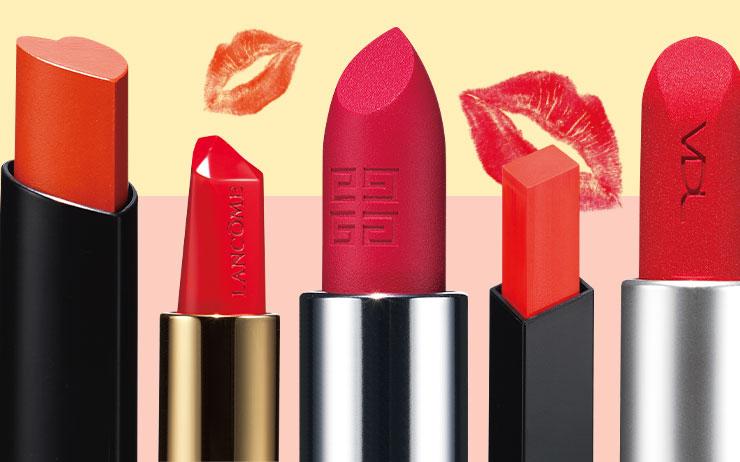 하트부터 세모, 큐브까지! 입술에 닿는 커팅 면이 독특한 별별 립스틱.