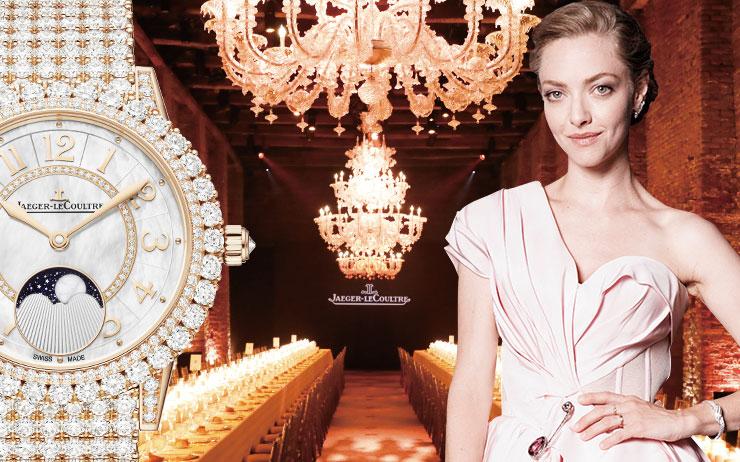 스위스 매뉴펙처 워치 브랜드 '예거 르쿨트르'가 15년간 베니스국제영화제와 함께하는 이유.