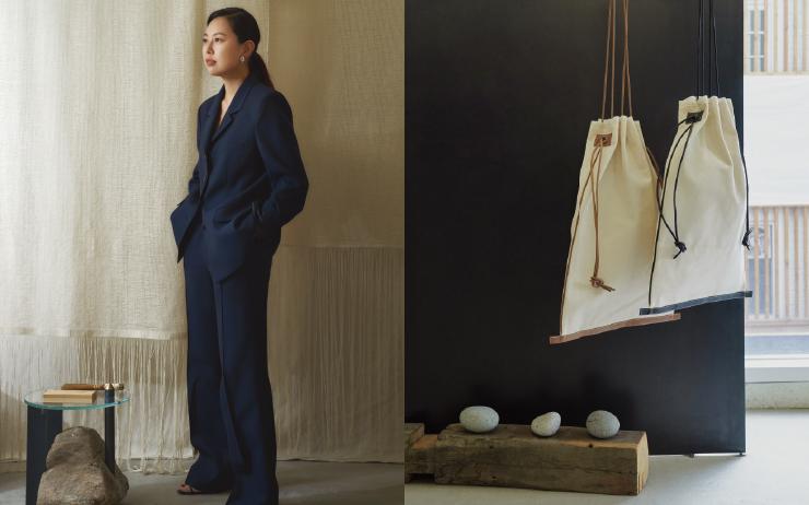 미니멀한 실루엣, 자연스러운 우아함, 동양적인 디테일, 사색적인 분위기. 디자이너 신은혜가 이끄는 르 917(Le 17 Septembre)의 옷에는 동시대적인 미학이 녹아 있다.