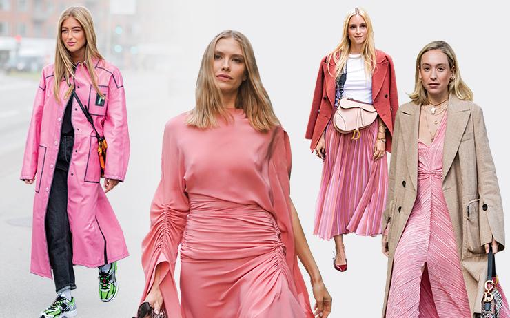 가을은 로맨스가 필요한 계절이다. 머리부터 발끝까지 핑크빛으로 물들여 사랑스러운 기운을 채워볼 것!