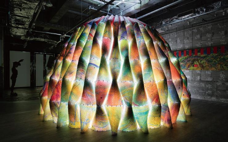 댄 루스가르데의 'Lotus Dome'.