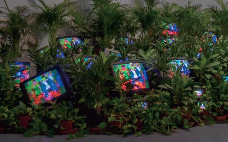 백남준이 한국에 본격적으로 소개된 건 1980년대 중반의 일이다. 우리가 텔레비전을 쌓아올린 화려한 비디오 작업에만 익숙한 이유다. 영국 테이트 모던이 백남준 사후 최초로 대규모 회고전을 준비했다.