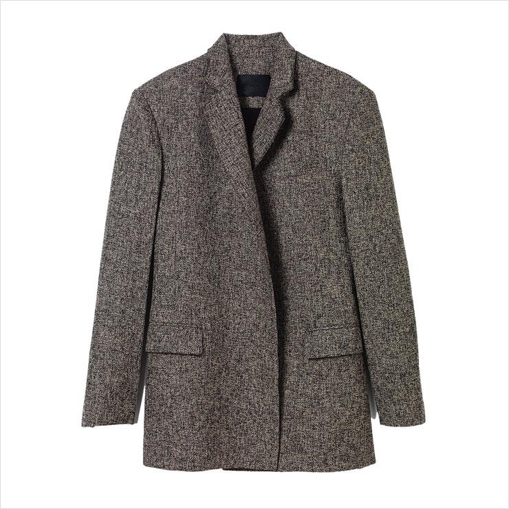 남성적인 오버사이즈 재킷은 가격 미정, YCH.